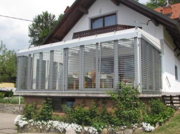 Krpanke za teraso - projekt